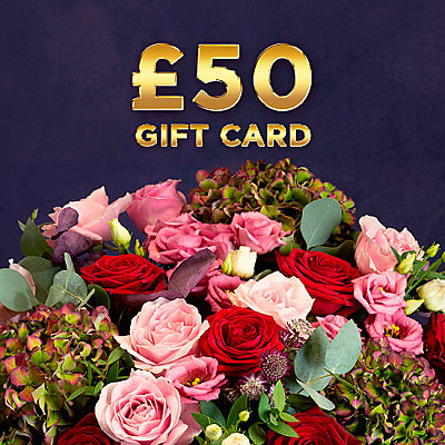 £50 Gift Card - Flowers