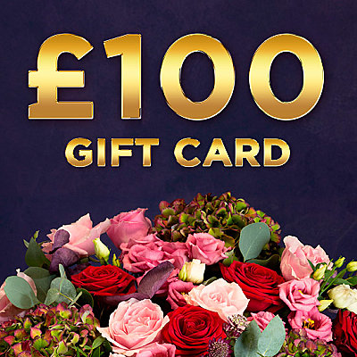 £100 Gift Card - Flowers