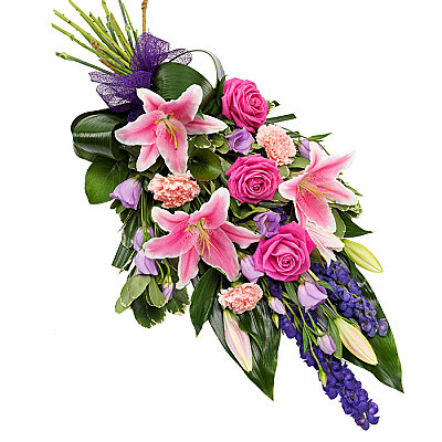 Pink & Purple Sheaf - Flowers