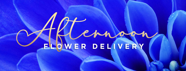 Afternoon Flower Delivery - Timed delivery options available