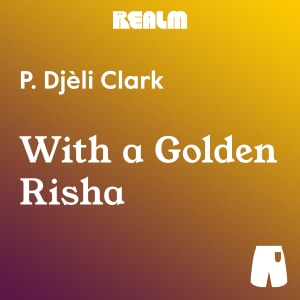 With a Golden Risha