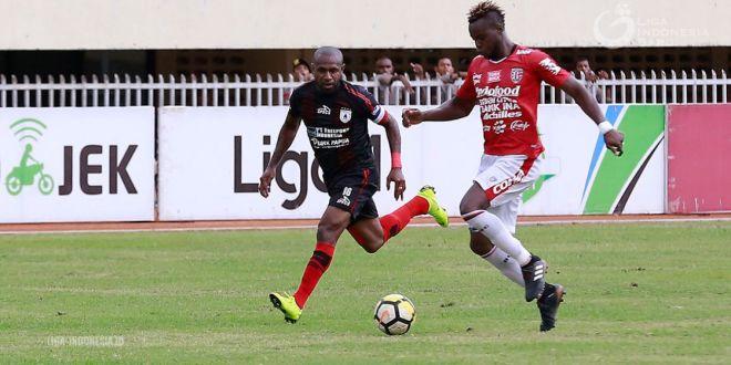Kalahkan Bali United, Persipura Naik Ke Papan Tengah Klasemen Liga