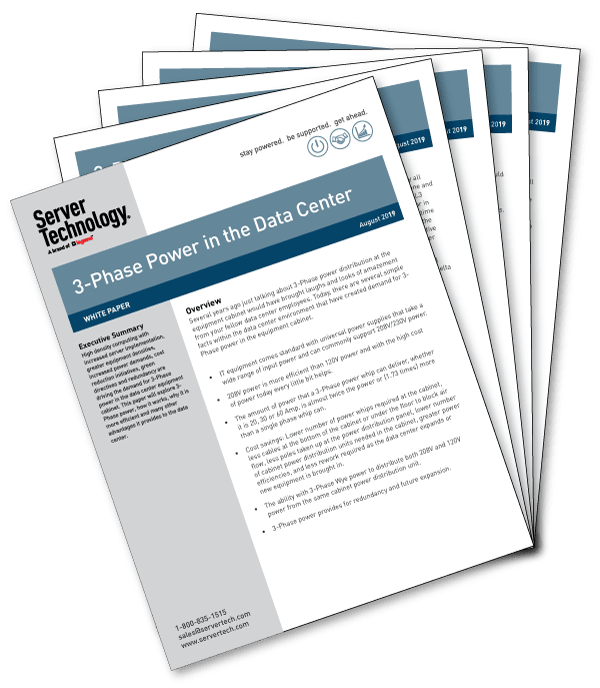 3 Phase Power in the Data Center White Paper