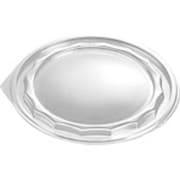 Lokk til salatskål 680-1350 ml, Klar, Ø 192 mm