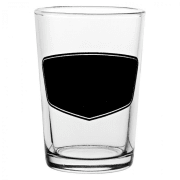 Conical 7oz (20cl) - with Blackboard Design