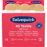 Plaster refill tekstil, Salvequick (6x40 stk)