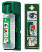 Dispenser/veggholder til øyedusjflaske (500ml)