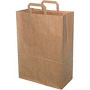 Bærepose papir 30 ltr Brun