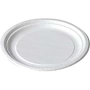 Asjett papp rund, Hvit, Ø 180 mm