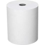 Kassarull papir 43 m, 76mm, Hvit (eske à 50 rll)
