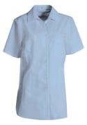 Dameskjorte PERFORMANCE 1/4-erm, lyseblå, S