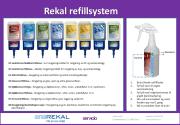 Startpakke Rekal RF system-Rengj./desinf. Carpo #8