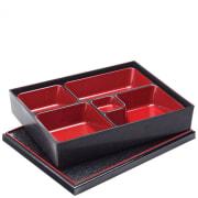 Bento Box (27 x 21cm) - 5 Compartment