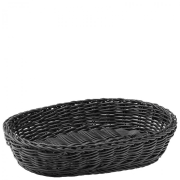 Black Oval Basket (29cm)