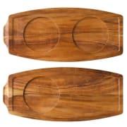 Acacia Wood Board 34x15.5cm