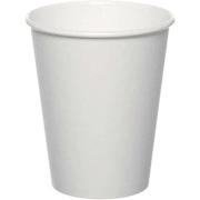 Drikkebeger papp 355ml / 12oz, hvit (1260stk)