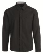 Herreskjorte 25053 lang erm sort, L