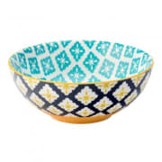 Cadiz Blue & Yellow Bowl (16cm)