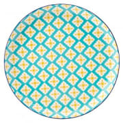 Cadiz Blue & Yellow Plate (27cm)