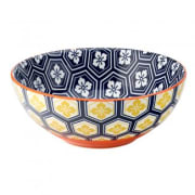 Cadiz Blue & Orange Bowl (16cm)