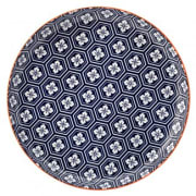 Cadiz Blue & Orange Plate (27cm)