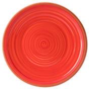 Calypso Red Plate (35 cm)