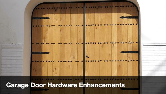 Garage Door Enhancements Decorative Hinges Door Handles
