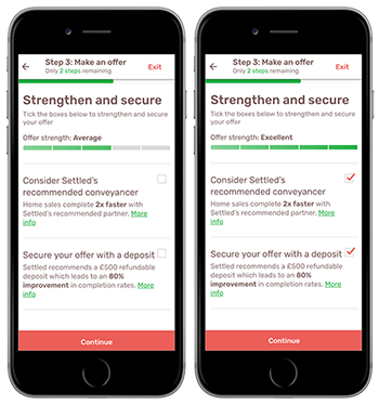 screenshot of strengthen & secure on iphone 6s