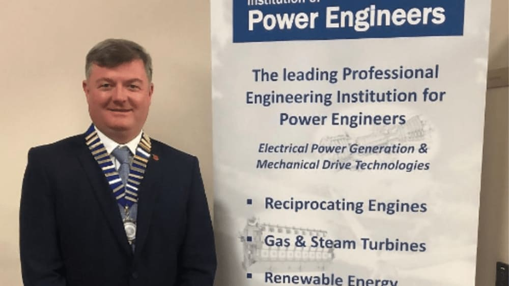 Leading Sembcorp engineer elected to Presidency of prestigious power industry trade body - Institution of Power Engineers press release