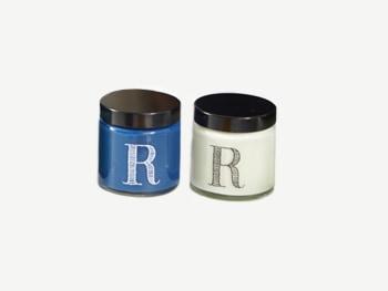 Small paint pots.