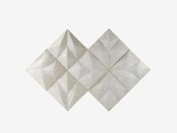 Butter white wall tiles with a naturally rich texture.