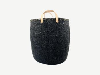 Black baskets