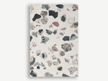 Terrazzo surface sample.