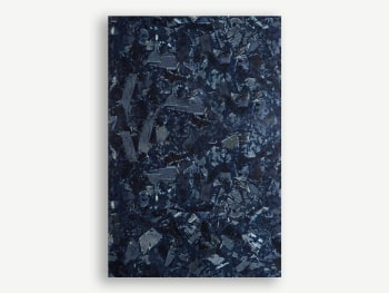Sample of surface made with discarded denim.