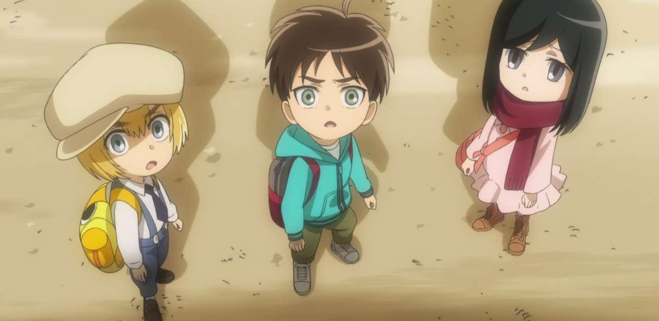 Watch Attack On Titan Junior High Season 1 Episode 1