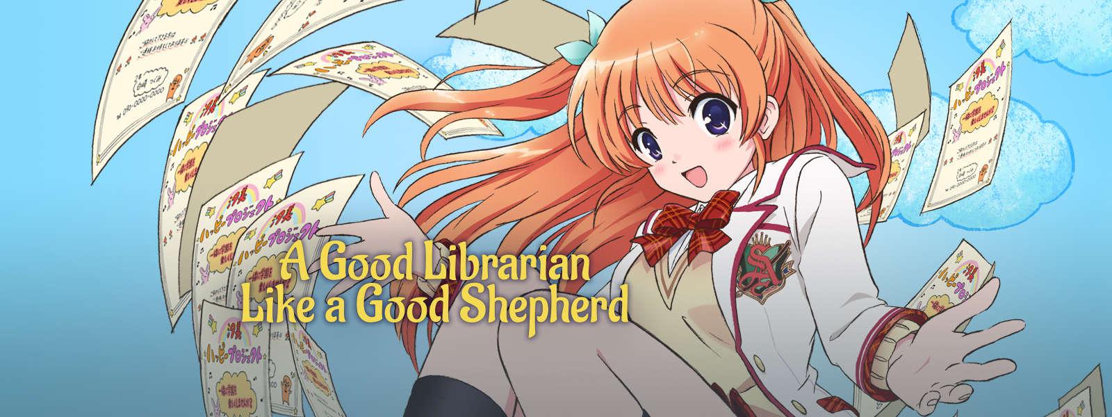 A good librarian like a good shepherd