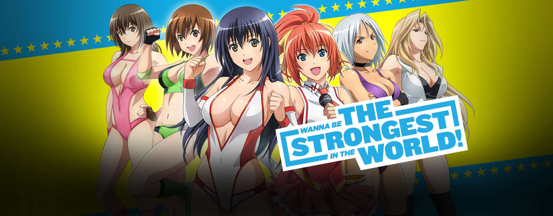 Wanna be the Strongest in the World!