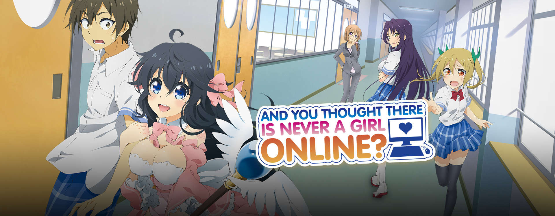 And you thought there is never a girl online?