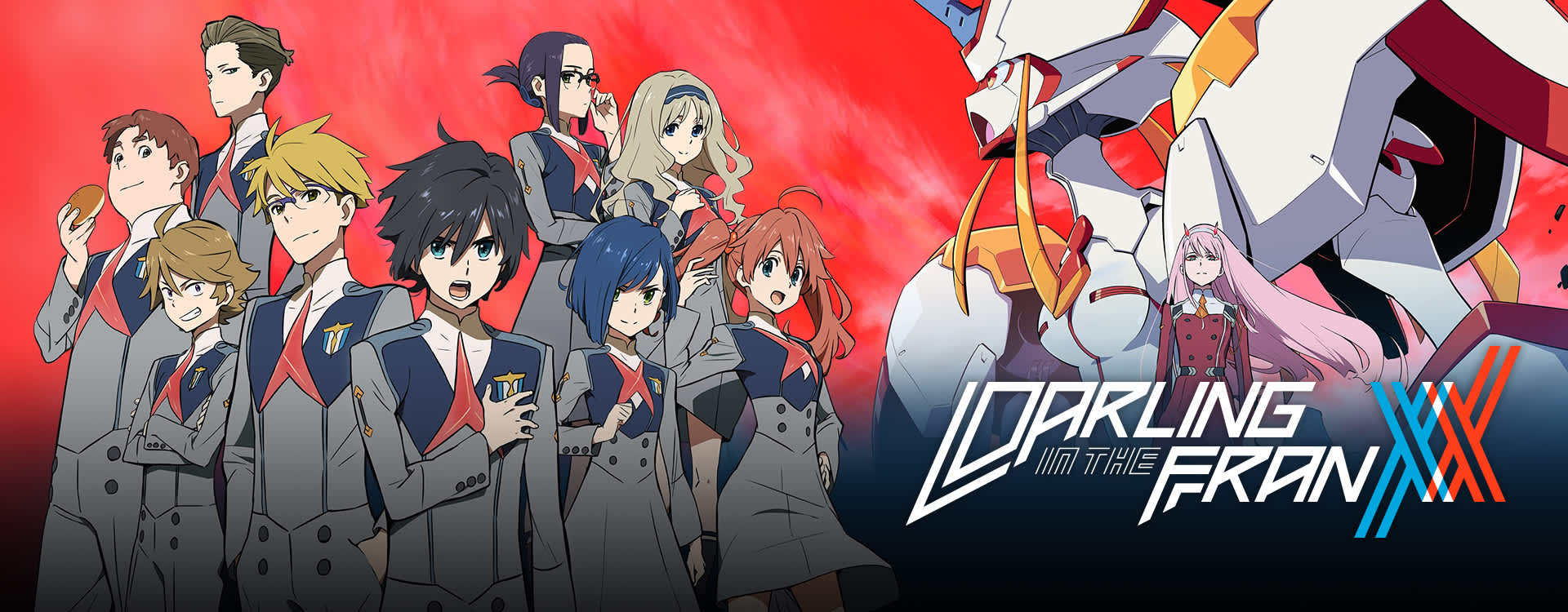 Image result for darling in the Franxx