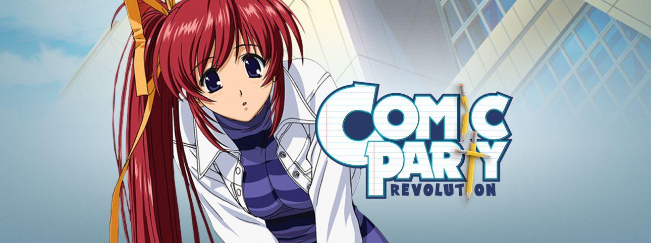 Comic Party Revolution Full Movie English