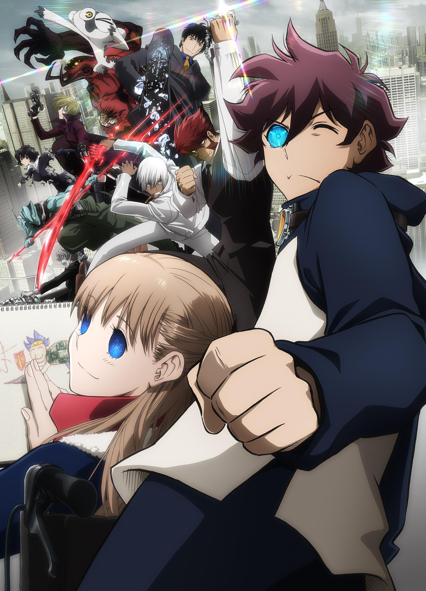 Kekkai Sensen & Beyond 12/12 + Ova [HD 720p – 1080p] [Sub Español, Ingles] [MEGA – Mediafire]