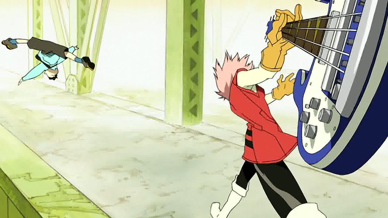 Watch flcl season 1 episode 1 anime uncut on funimation