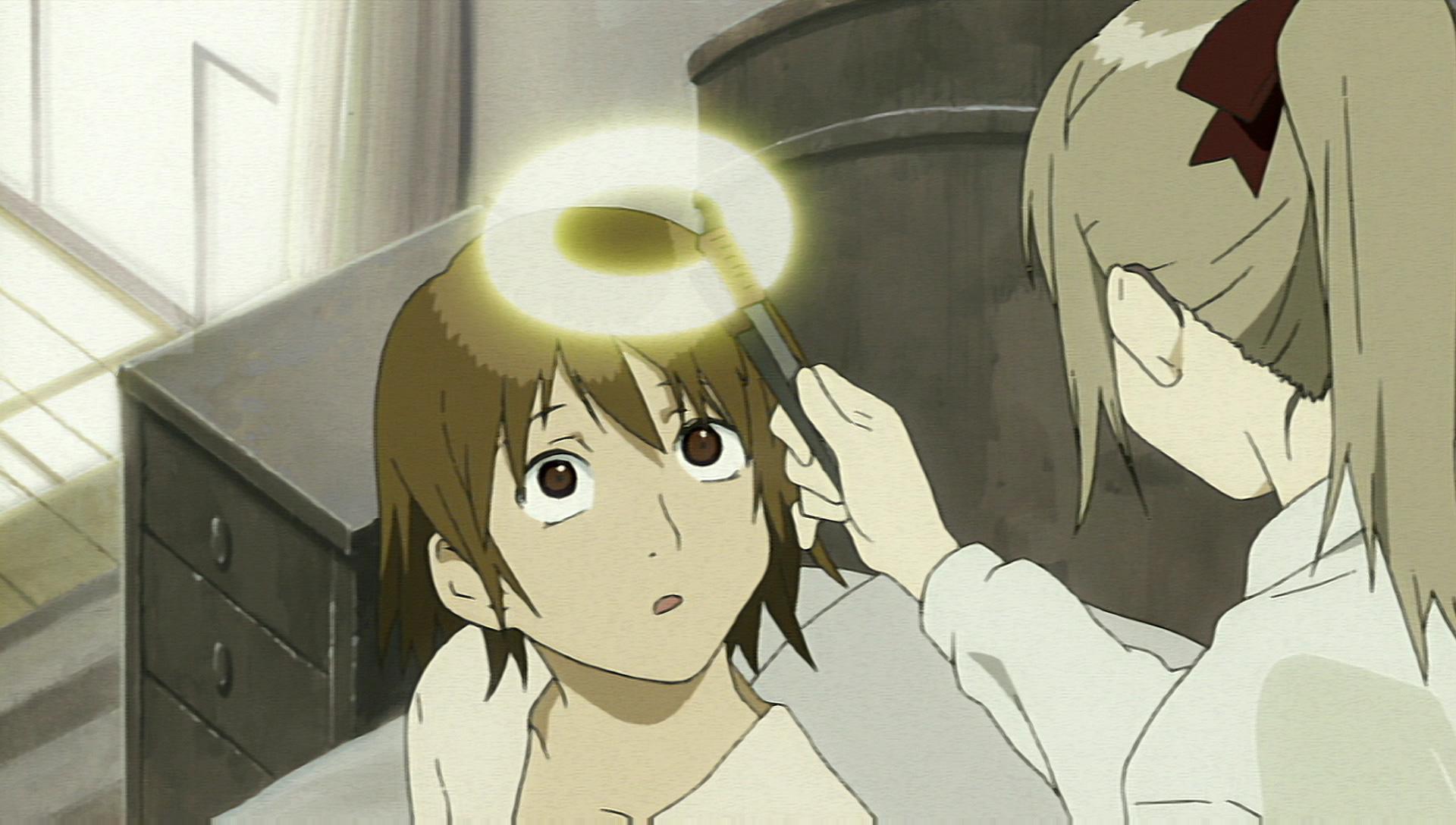 Kết quả hình ảnh cho Haibane Renmei anime