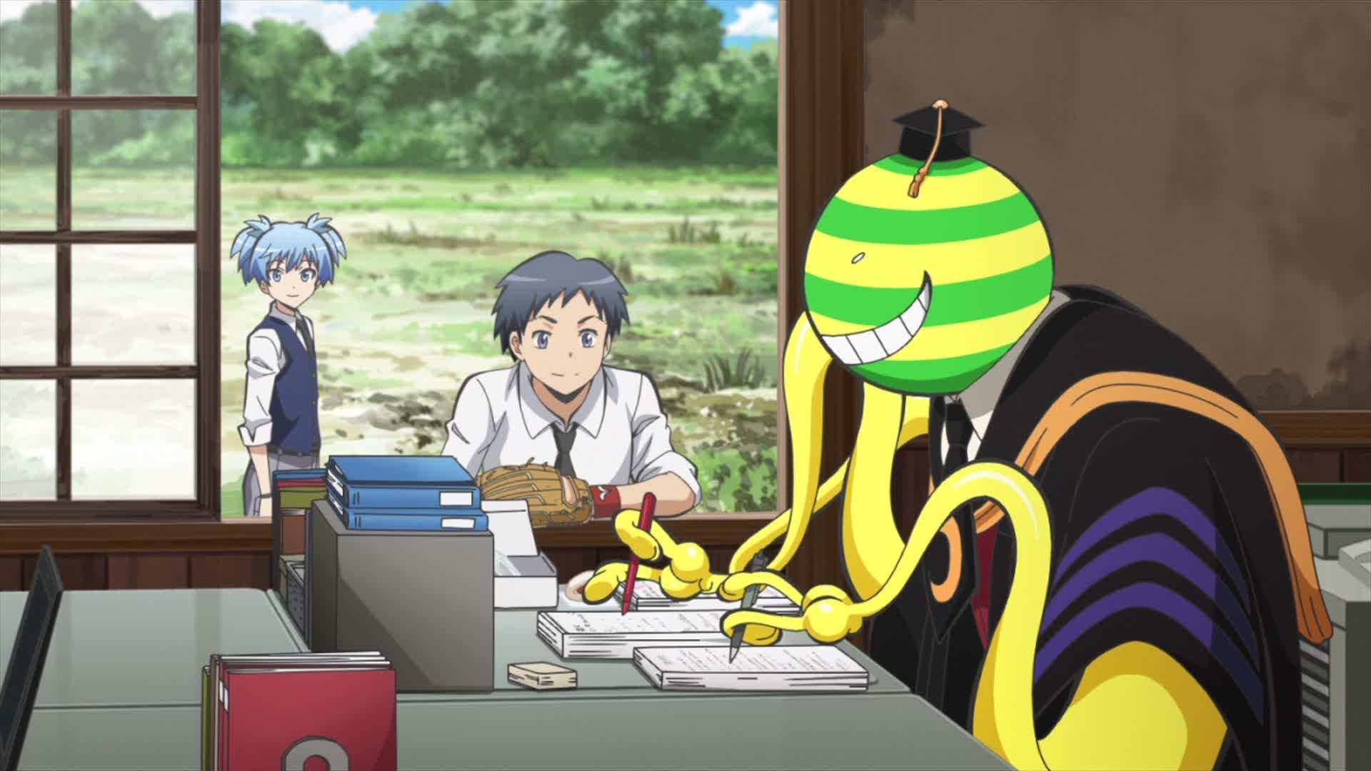 Japanese Classroom Decor ~ Watch assassination classroom season episode anime on