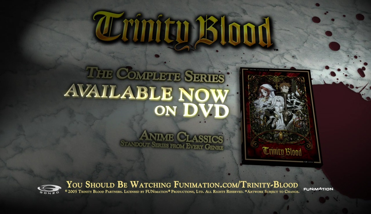 Watch Trinity Blood Season 99 Episode Anime on Funimation