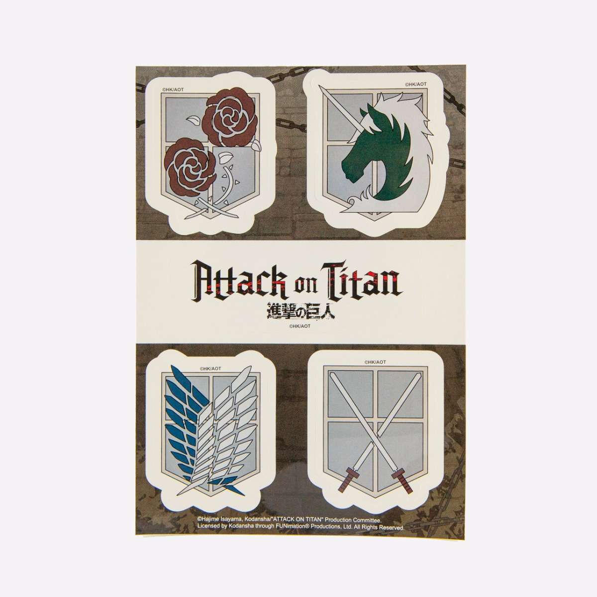 Emblems Sticker Set home-decor