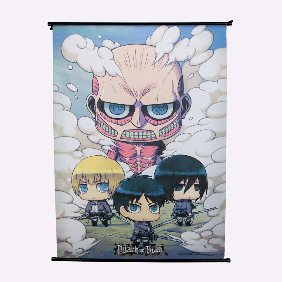 Group Wall Scroll home-decor