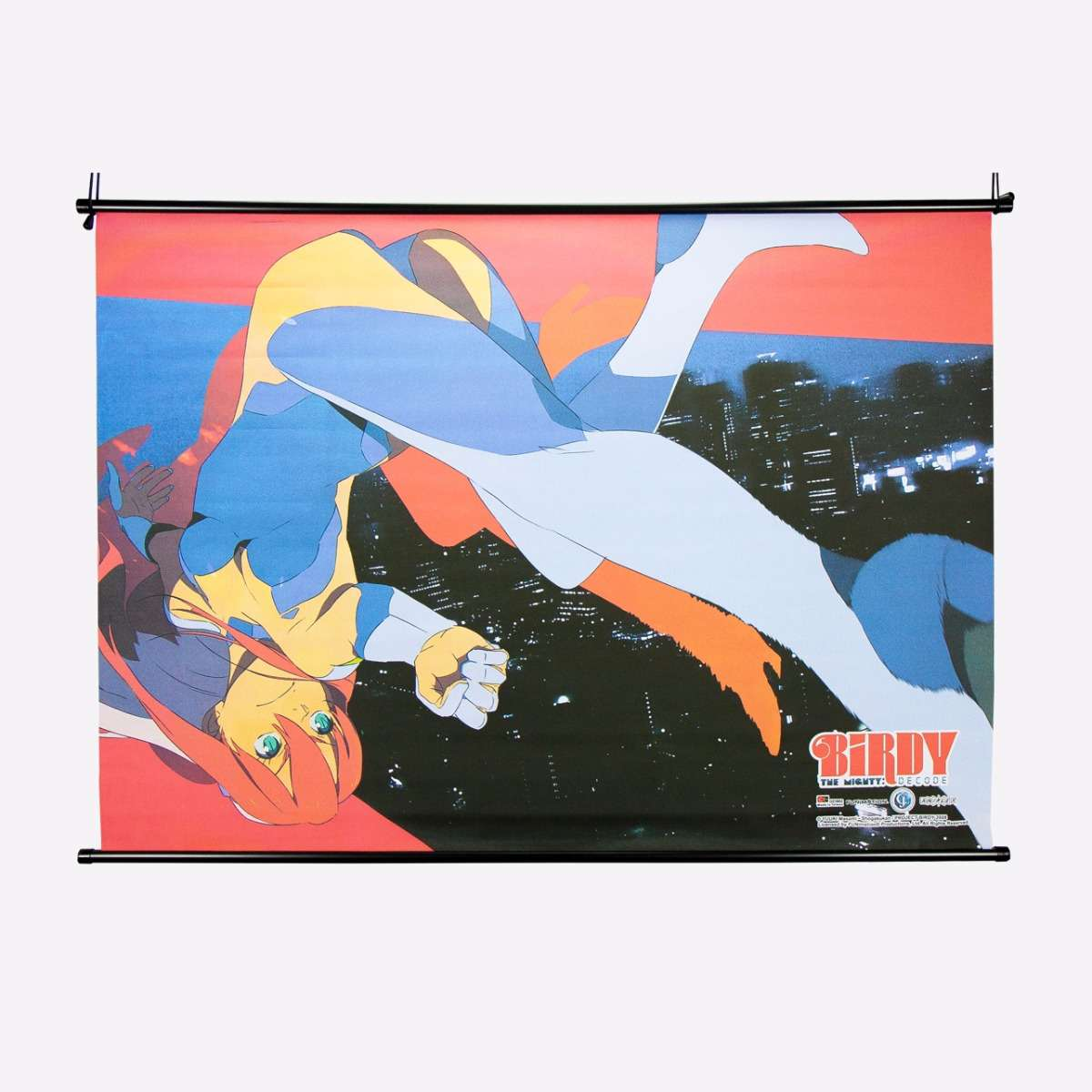 Action Wall Scroll home-decor