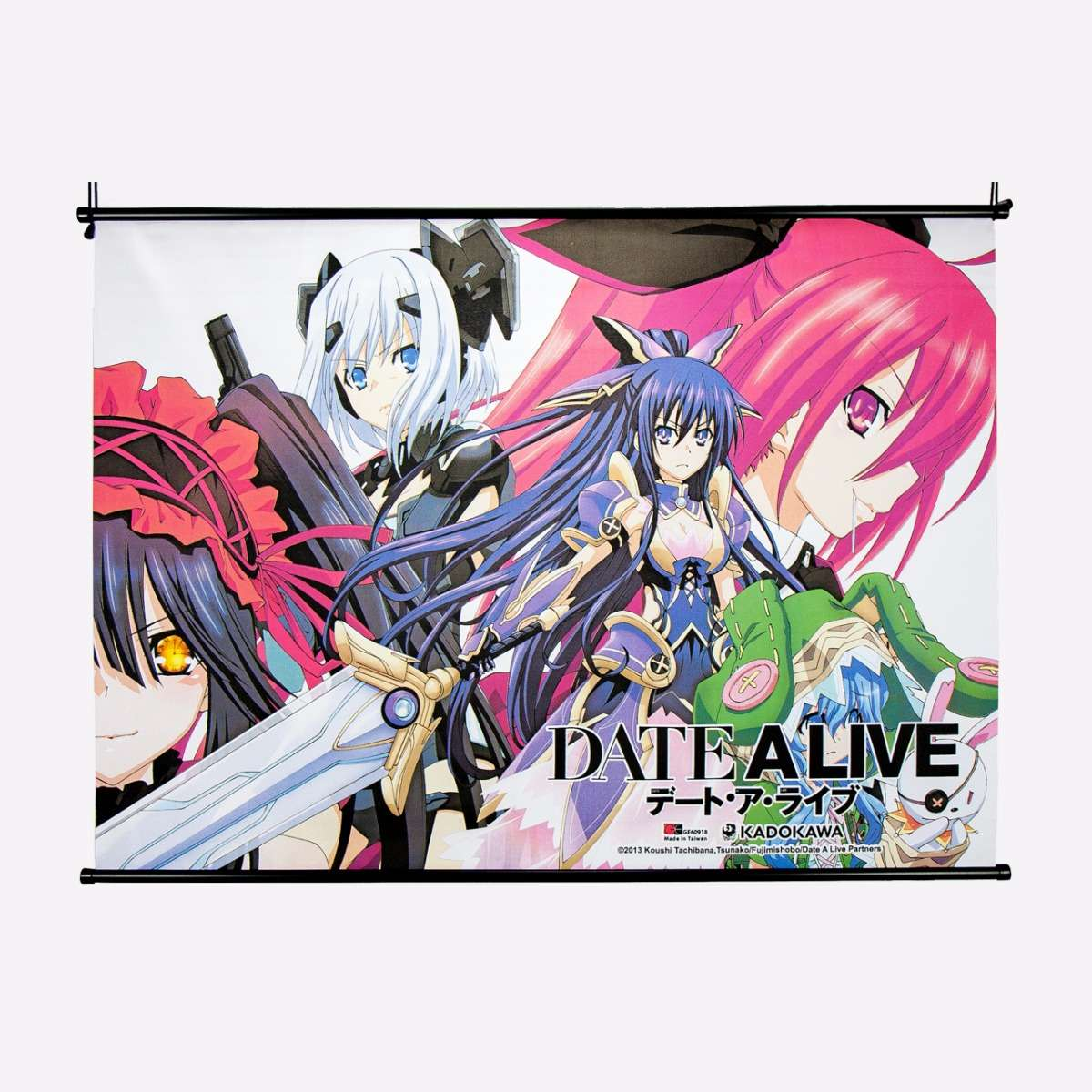 Main 4 w/Kurumi Wall Scroll home-decor