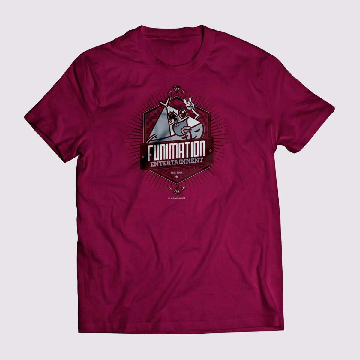 T-shirt - Maroon Apparel